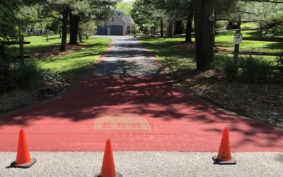 Project Highlight – Stamped Asphalt Driveway