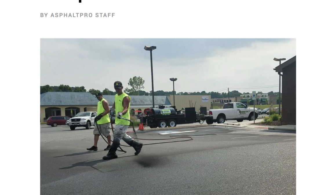 """""""RS Asphalt Invests to Seal with Success"""" ASPHALTPRO Feature"""