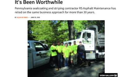 RS Asphalt Featured on For Construction Pros